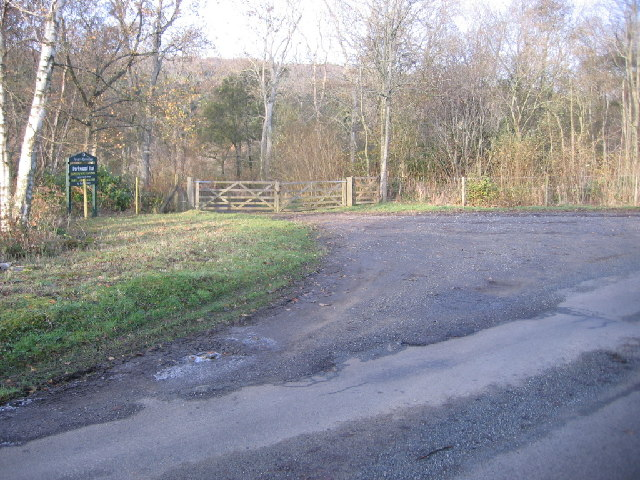 New entrance to Park Wood.