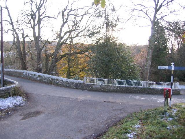 Isel Bridge over the river Derwent.