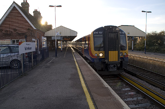 Wareham Station, Dorset