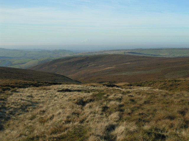 Hollingworth Clough and Burnt Hill