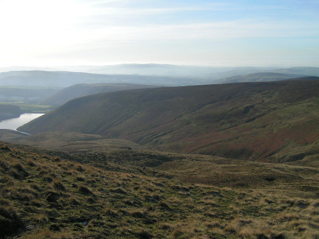 William Clough from Kinder Scout