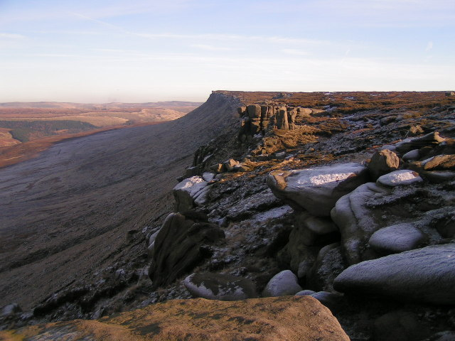 Kinder Scout: the northern edge