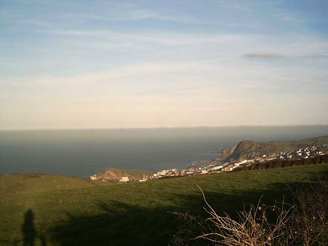 View of Ilfracombe from Lee Down