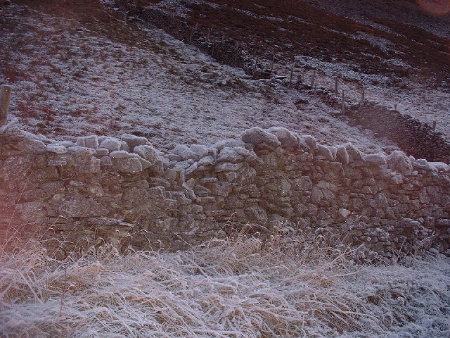 Frosty Wall Whinlatter Pass