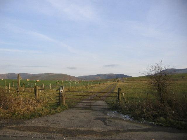 Footpath to Park Wood.