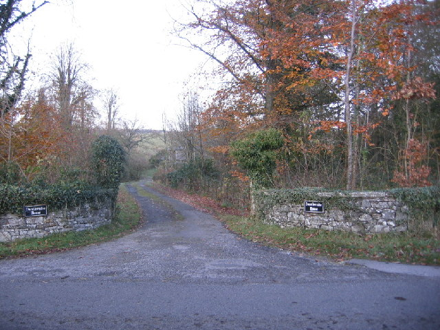 Dunthwaite House entrance from road.