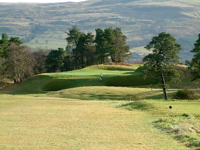 9th hole on Kings Course at Gleneagles