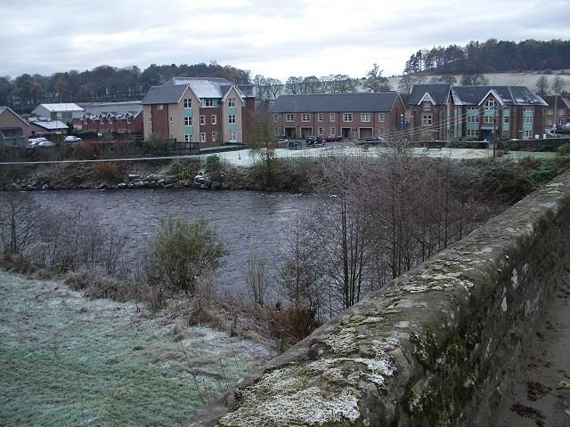 River Earn at Crieff Bridge