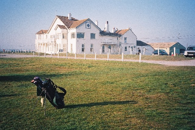 Clubhouse at Royal Cinque Ports Golf Club