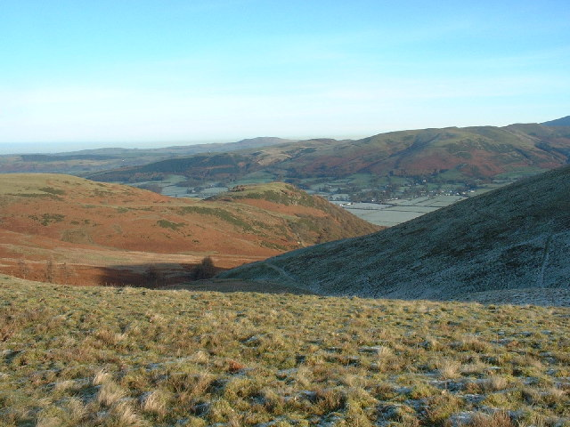 Looking North from Sourfoot Fell