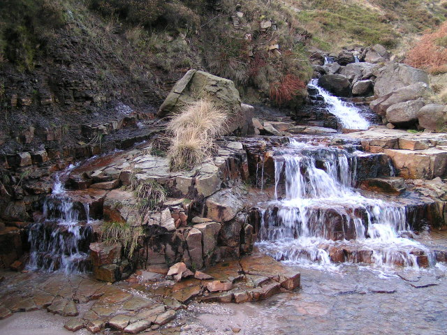 Waterfall, River Kinder
