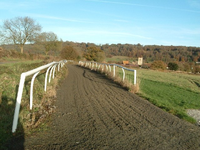 Gallops overlooking Aldbury Village