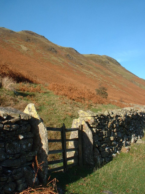 Wall Near Potter Gill