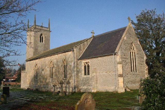 St.Martin's church, Stubton, Lincs.