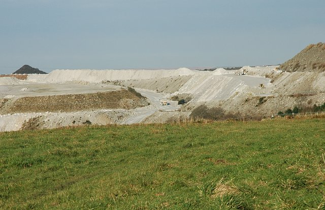 New China Clay Spoil Heap