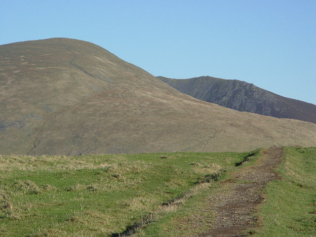 The southern slopes of Lonscale Fell