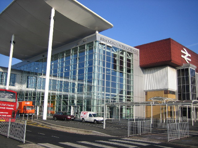 Birmingham International Railway Station