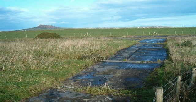 Disused airfield at Whitchurch, Pembrokeshire