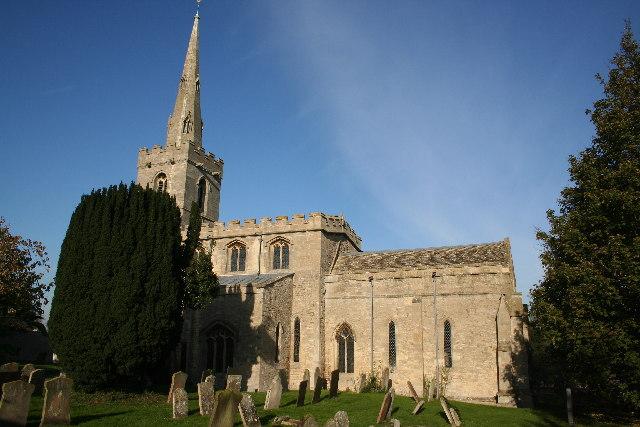 St.Mary's church, Wilsford, Lincs.