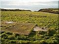SM7924 : Hut bases at Nine Wells, Pembrokeshire by Patrick Mackie