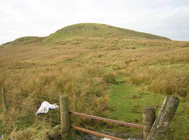 Path to Ballageich Hill