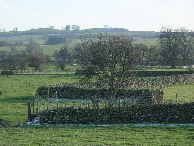 Dry Stone Walls and Farmland near Greystoke