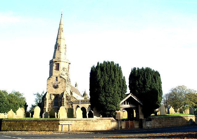 St. Cuthbert's Parish Church, Halsall