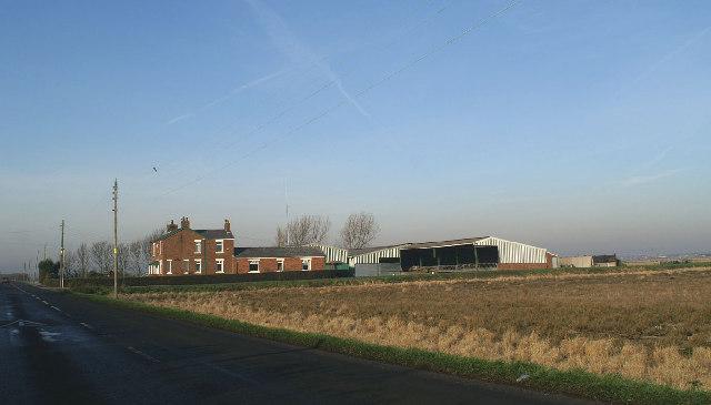 Manor House Farm, Halsall Moss