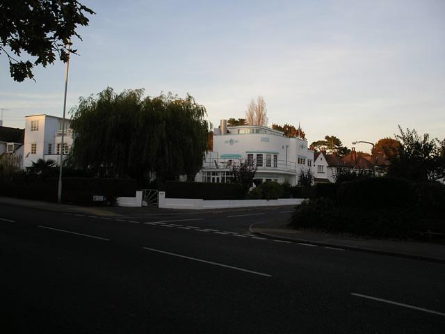 Art Deco house, Sandbanks Road