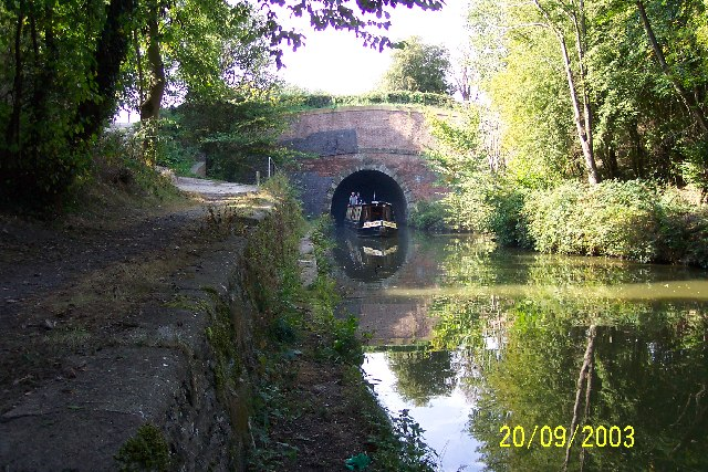 The eastern portal of Braunston Tunnel