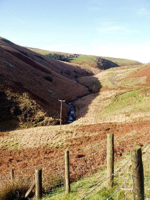 Upper Doethie valley