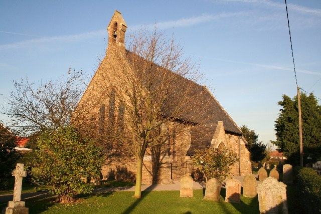 St.Oswald's church, Walcott, Lincs.