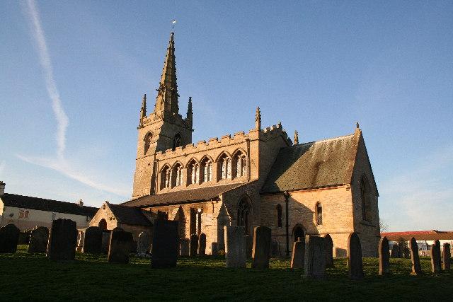 St.Thomas Martyr's church, Digby, Lincs.