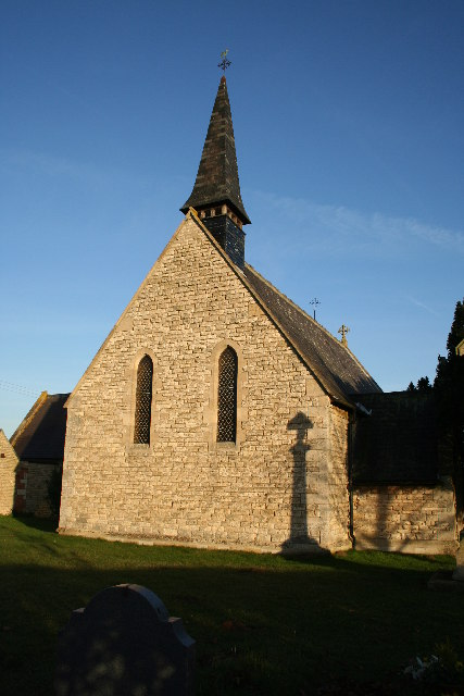 St.John's church, Temple Bruer, Lincs.