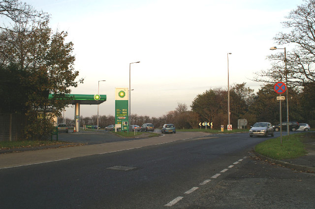 Formby By-pass junction