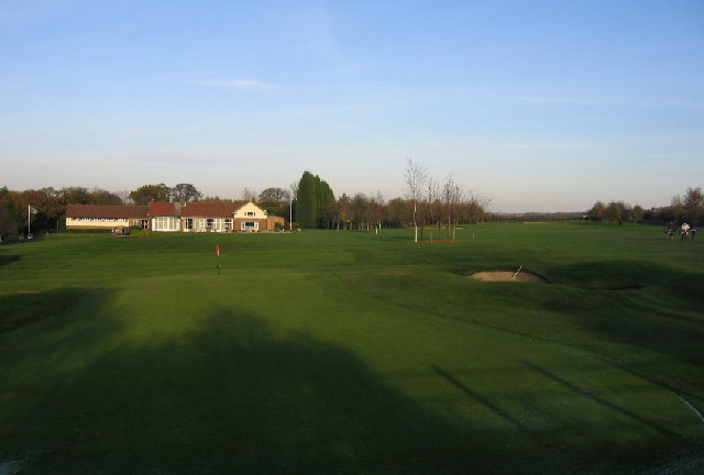 Wearside Golf Course,Clubhouse and first green