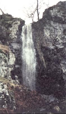 Gargunnock Burn Waterfall