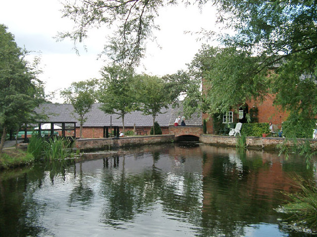 Shepshed Water Mill - millpond