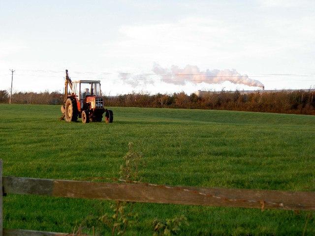 Farmland off the B3227 west of South Molton