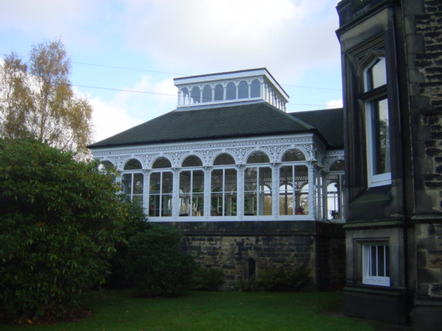 Conservatory, Broughton Hall
