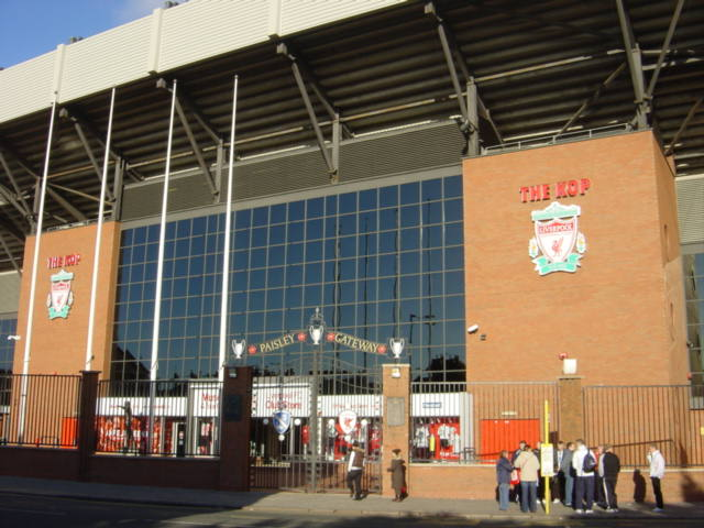 The Kop, Liverpool's Anfield stadium