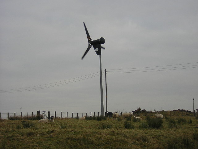 Wind Turbine at South Drumboy Farm