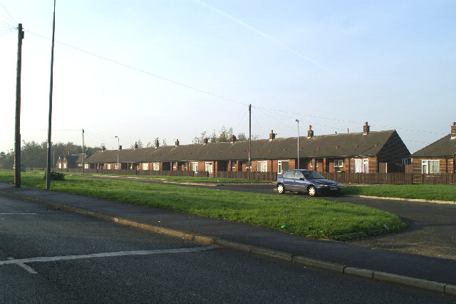 Pensioners' bungalows