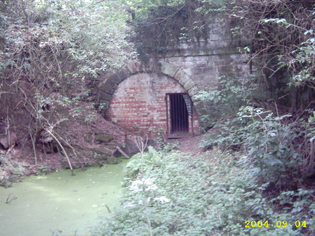 Berwick tunnel, the Shrewsbury canal