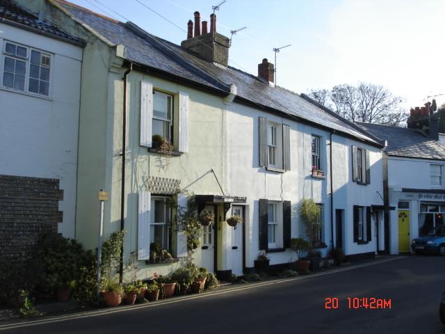 Cottages in Waterloo Road, Felpham