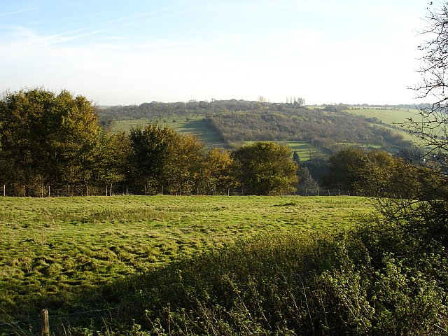 South east from Stockbury church