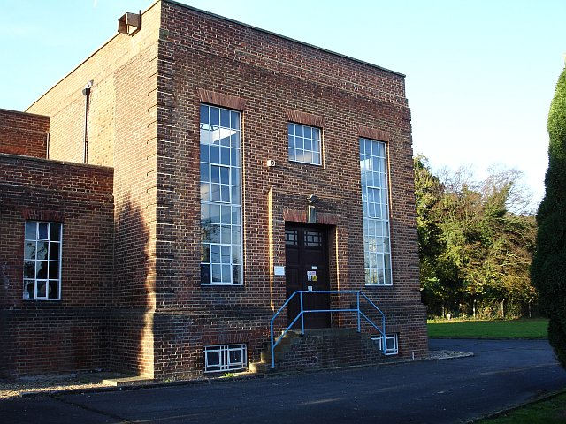 Pumping station on Cox Street