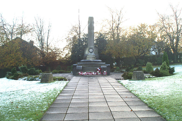 Up Holland War Memorial