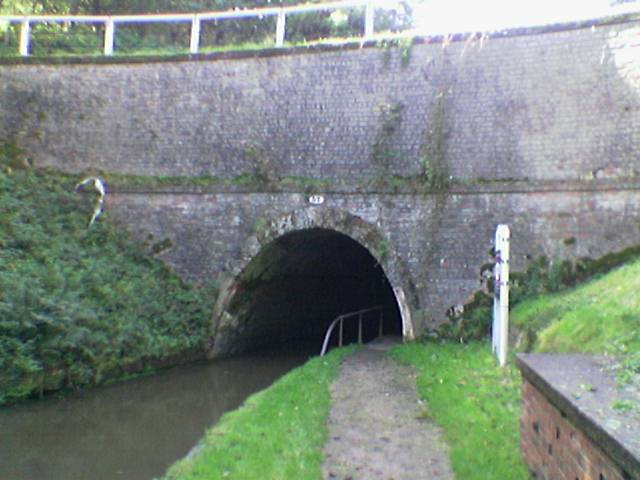 Ellesmere canal tunnel entrance