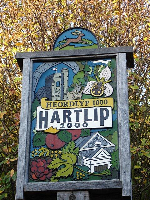 Hartlip village sign
